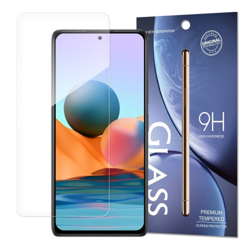 Tempered Glass 9H Screen Protector for Xiaomi Redmi Note 10 Pro (packaging – envelope)