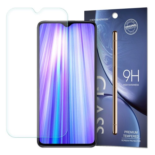 Tempered Glass 9H Screen Protector for Xiaomi Redmi Note 8 Pro (packaging – envelope)