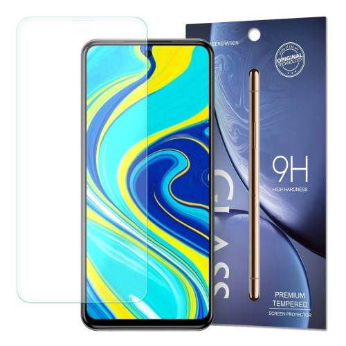 Tempered Glass 9H Screen Protector for Xiaomi Redmi Note 9 Pro / Redmi Note 9S / Poco X3 NFC (packaging – envelope)