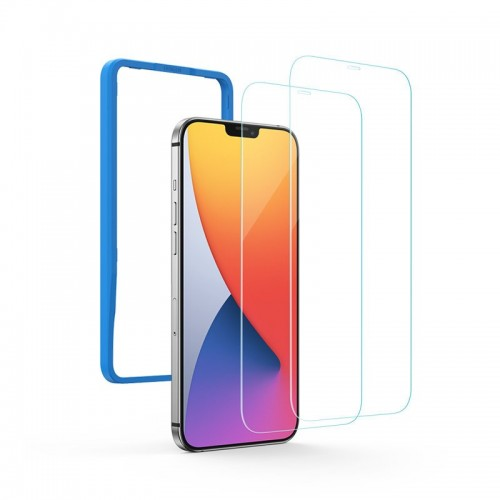 Ugreen 2.5D Tempered Glass Tough Screen Protector for iPhone 12 Pro Max transparent (case friendly)