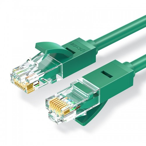 Ugreen Ethernet patchcord cable RJ45 Cat 6 UTP 1000Mbps 1 m green (NW102 80833)