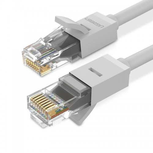 Ugreen Ethernet patchcord cable RJ45 Cat 6 UTP 1000Mbps 2 m white (20175 NW102)