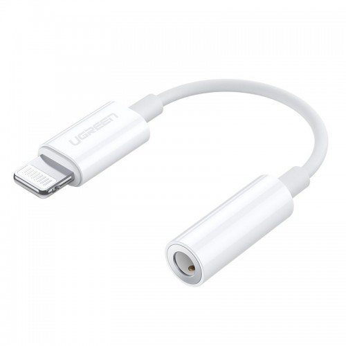 Ugreen MFI Adapter from Lightning to headphones jack 3,5 mm port white (US212 30759)