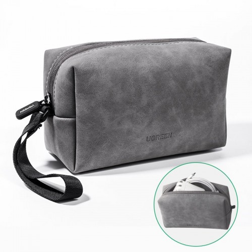 Ugreen Self-supporting TPU beautician receipt package gray (LP285 80359)