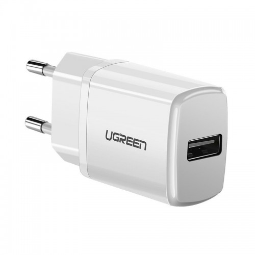 Ugreen USB 2,1A wall charger white (50460)