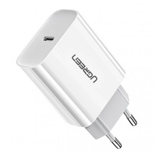 Ugreen USB Power Delivery 3.0 Quick Charge 4.0+ wall charger 18W 3A white (60450)