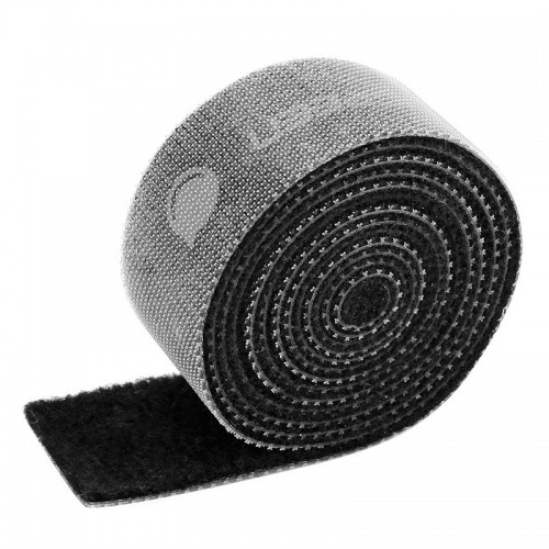 Ugreen velcro straps cable organizer 15 mm x 2 m black (60484 LP124)