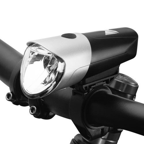 Wozinsky Front Bicycle Light USB charged black-silver (WFBLB1)