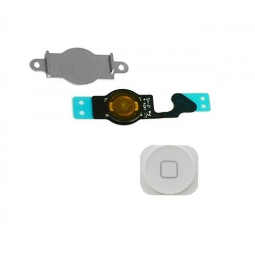 Home button για Apple iPhone 5 Λευκό