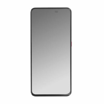 Γνήσια Οθόνη + Πλαίσιο για Xiaomi Poco F2 Pro White 56000E0J1100 (original service pack)