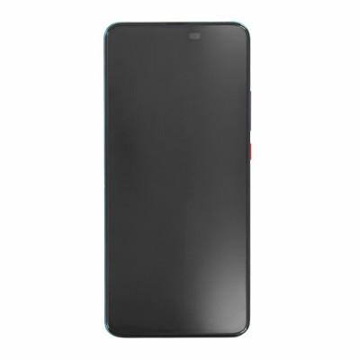 Γνήσια Οθόνη + Πλαίσιο για Xiaomi Poco F2 Pro Purple 56000F0J1100 (original service pack)