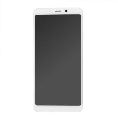 Γνήσια Οθόνη + Πλαίσιο για Xiaomi Redmi 6/6A Λευκό 560410028033 (original service pack)