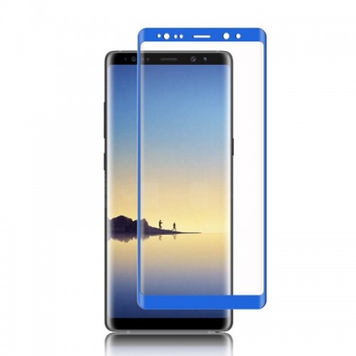 3D Full Cover Προστασία Οθόνης Samsung Galaxy Note 8 μπλε