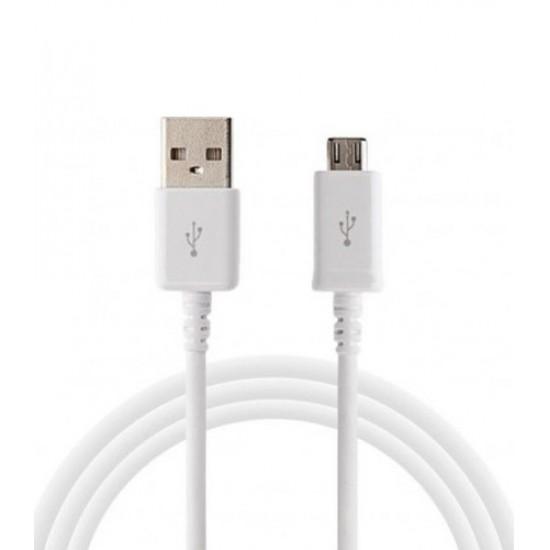 Samsung EP-DG925UWE USB σε micro USB 1.2m λευκό original (bulk)