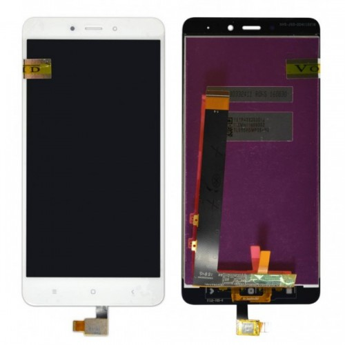Οθόνη LCD και Touch Xiaomi Redmi Note 4 (MediaTek) Άσπρη
