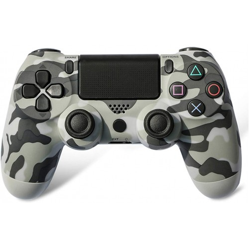 Doubleshock 4 Wireless Controller for PS4, PS TV & PS Now (Camouflage Grey)
